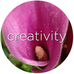 creativity purple calla lily flower essence